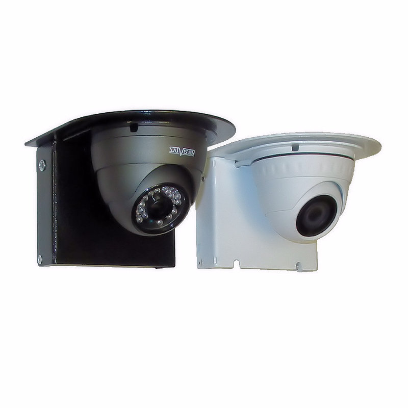 Видеокамеры на кронштейнах