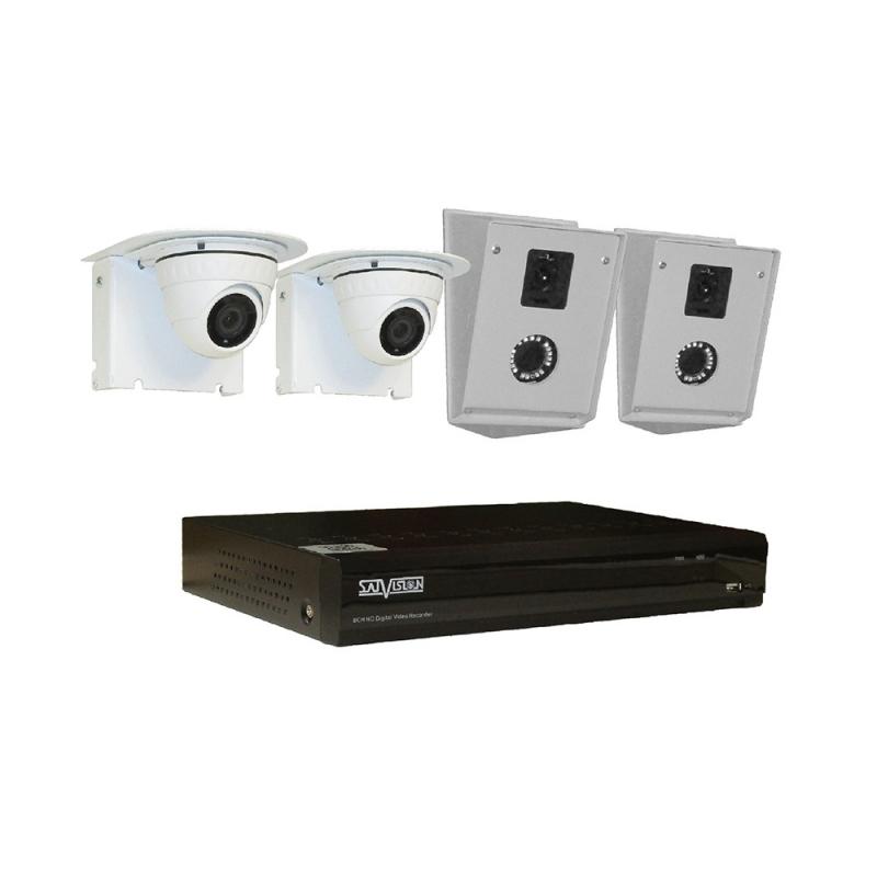 Комплект IP 2 Мп - 2 DVI НК-90 / 2 DVI КмВК