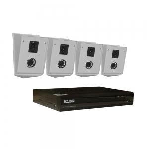 Комплект IP 2 Мп - 4 DVI КмВК